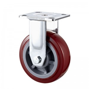 Heavy Duty - Chrome plated housing with Black TPE wheel1