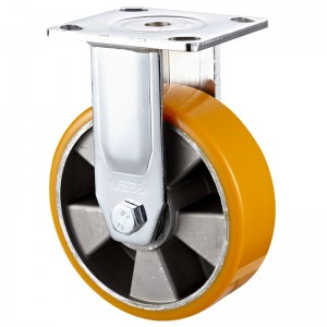 Heavy Duty - Chrome plated housing with Black TPE wheel2