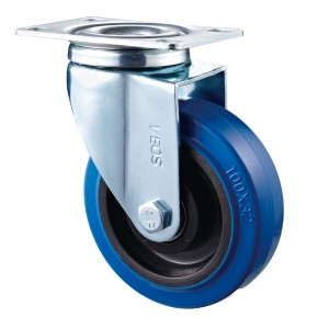 Medium Duty - Chrome plated housing with Blue2 Diamand TPE wheel